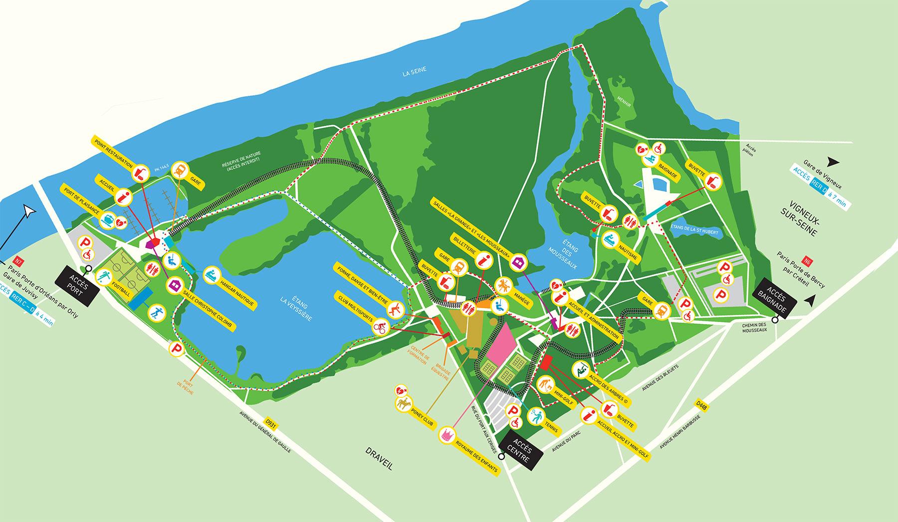 Sortie en base de loisirs alfortville - Base de loisirs port aux cerises ...