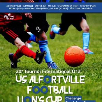 Tournoi international U12 - Affiche