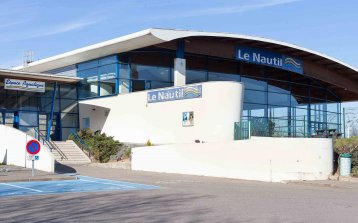 Le Nautil, complexe intercommunal de sports aquatiques (Pontault-Combault)